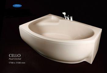 "Ванна CELLO - марки P.A.A. ""фабрика ванн"""