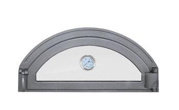 купить Дверца чугунная со стеклом и термометром правая PIZZA 8Т в Кишинёве