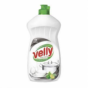 Средство для мытья посуды Velly Premium 500мл лайм и мята