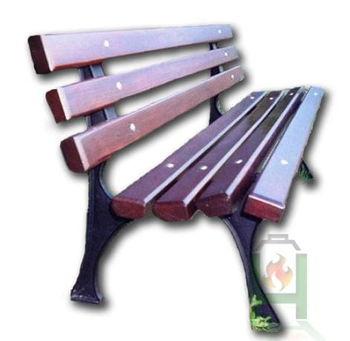 Ножка чугунная для садовой скамейки Urban V