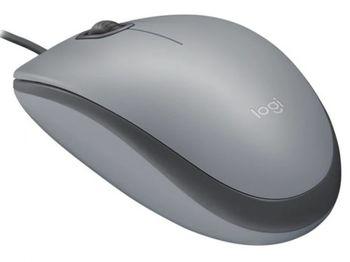 купить Mouse Logitech M110 Silent, Optical, 1000 dpi, 3 buttons, Ambidextrous, Blue, USB в Кишинёве