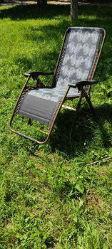 Шезлонг - Кресло Рисунок , раскладной, с подголовником
