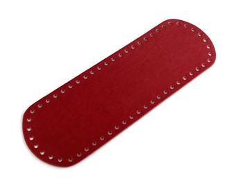 Bază pentru geantă, 10x30 cm / Roșu închis
