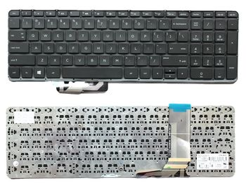 "Keyboard HP Envy 15-J 17-J M7-J w/o frame ""ENTER""-small ENG. Black"