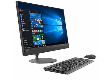 "Компьютер моноблок 21.5"" Lenovo 520-22ICB All-in-One, Intel Core i3-8100T 3.1GHz/4GB DDR4/1TB HDD+16GB Intel Optane/Intel UHD 630/DVD-RW/Bluetooth/WiFi 802.11ac/HDMI/Pop-up IR Camera/21.5"" FHD IPS Touchscreen Display (1920x1080)/Keyboard&Mouse/Windows 10 Home, 64-bit"