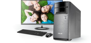 """cumpără """"Asus Desktop M32CD (i5-6400 8Gb 1TB ODD GTX950 Win10  27L ) Black Intel® H110,8 GB Up to 16 GB,1 x PCI-e x 16,1 x mini PCI-e,4 x SATA 6Gb/s,Up to 3TB SATA Hard Drive,24X DVD-RW,LAN 10/100/1000/Gigabits Mbps,SonicMaster High Definition 7.1 Channel Audio,Front I/O Ports:1 x 5 -in-1 Card Reader,1 x Headphone,1 x Microphone, 2 x USB 3.0,Back I/O Ports:2 x USB 3.1,2 x USB 3.0 ,2 x USB 2.0,1 x HDMI-Out,1 x VGA(D-Sub)-Out,1 x RJ45 LAN,1 x Line in,1 x Headphone (Speaker Out),1 x Microphone,3 x Audio Jack(s) (Speaker out),176 x 408.5 x 380 mm (WxDxH), Keyboard and Mouse Wired"""" în Chișinău"""