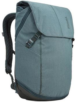 "15.6"" NB Backpack - THULE Vea 25L, Deep Teal, Safe-zone, Polyester melange, 800D nylon, Dimensions: 30 x 24 x 48 cm, Weight 1.18 kg, Volume 25L"