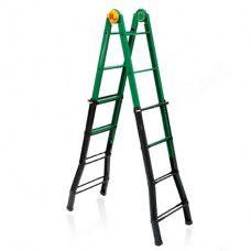 купить Стальная многофункциональная лестница B45, 1.40-2.18/2.81-4.43M в Кишинёве
