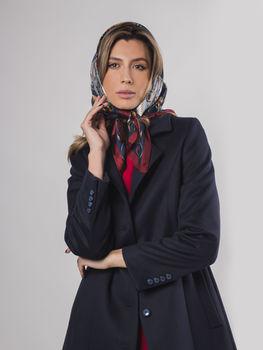 купить Пальто женское темно-серое в Кишинёве