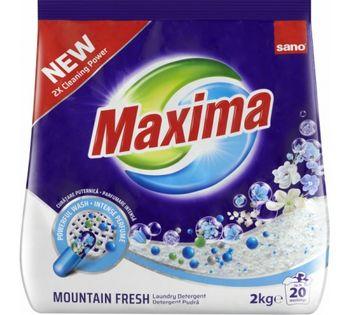 купить Sano Maxima Стиральный порошок Fresh Mountain (2 кг.)991280 в Кишинёве