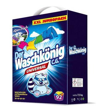 купить Стиральный порошок  Der Waschkonig Universal 7,5кг, 92 стирки в Кишинёве