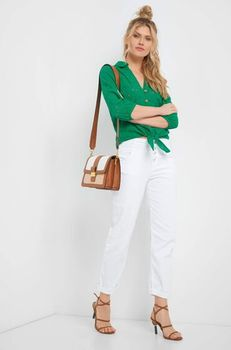 Блуза ORSAY Зеленый 662101 orsay