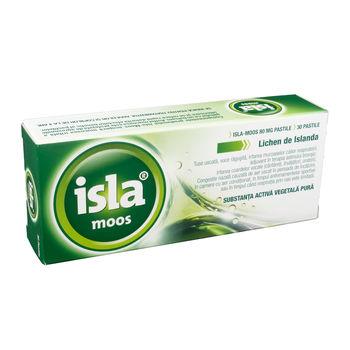 cumpără Isla Moos herbal lozenges 80mg pastile N30 în Chișinău