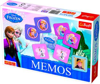01209 Trefl Game-Memos Frozen / Disney Frozen