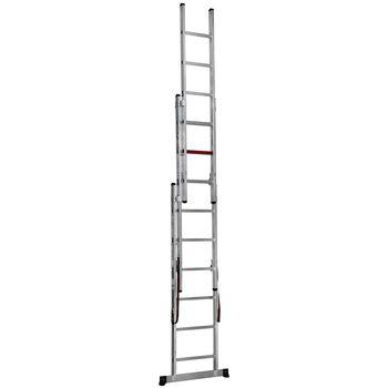 купить Трехсекционная лестница (3x6ст) TS6160 в Кишинёве