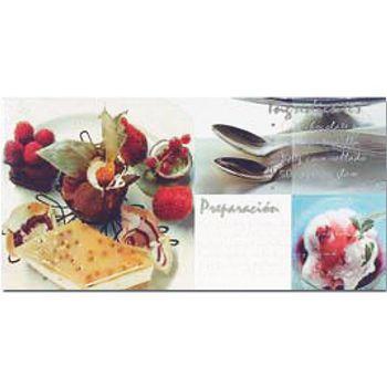 Keros Ceramica Декор Salat 25x50см