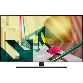 "55"" LED TV Samsung QE55Q77TAUXUA, Silver"