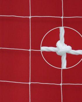 Сетка для мини-футбола 3x2x0.8x1 м, celula 12 см, fir 3.5 мм, HDPolyethylene (3795)