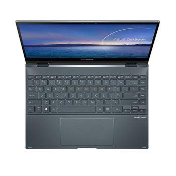 "Laptop 13.3"" ASUS ZenBook Flip 13 OLED UX363EA Pine Grey, Intel i5-1135G7 2.4-4.2Ghz/8GB LPDDR4X/SSD 512GB M.2 NVMe/Intel Iris Xe Graphics/WiFi 6 802.11ax/BT5.0/HDMI/HD WebCam/Illum. Keyb./ 13.3"" OLED Touchscreen Glossy (1920x1080)/Windows 10 UX363EA-HP184T"