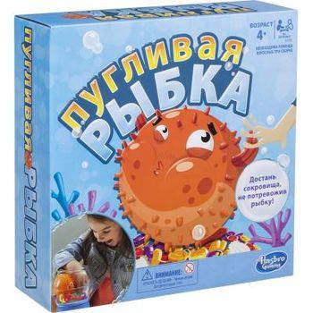 """Настольная игра """"Пугливая рыбка"""", код 43064"""