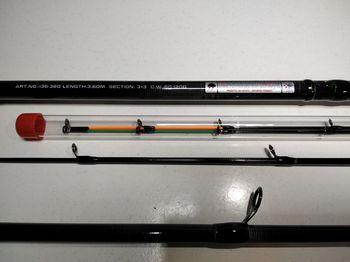 Фидерное Удилище WEIDA NeoXoen 3.60м, тест (60-120)г