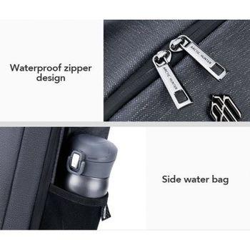 купить Рюкзак Artic Hunter B00251, для ноутбука 15.6'', с портом USB, водонепроницаемый, черный в Кишинёве