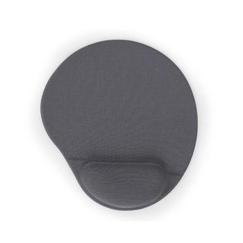 Gembird MP-GEL-Gray Gel mouse pad with wrist rest (Коврик с гелевой подставкой под запястья)