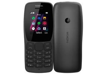 купить Nokia 110 (2019) Duos, Black в Кишинёве