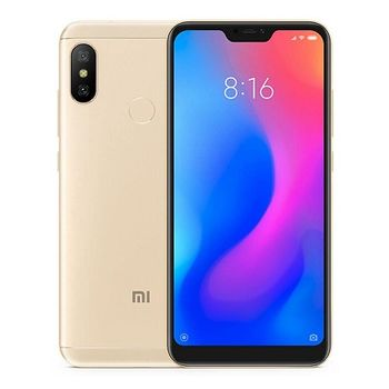 "Xiaomi Mi A2 EU 64GB Gold, DualSIM, 5.99"" 1080x2160 IPS, Snapdragon 660, Octa-Core up to 2.2GHz, 4GB RAM, Adreno 512, 12MP+20MP/20MP, LED flash, 3000mAh, WiFi-AC/BT5.0, LTE, Android One, Infrared port, 166g"