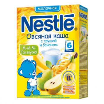 cumpără Nestle terci de ovăz cu lapte, pere şi banane, 6+ luni, 250 g în Chișinău