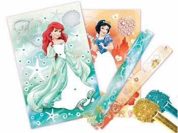 "20070 Trefl Arts&Crafts - ""Art Box small"" - Stardust / Disney Princess"