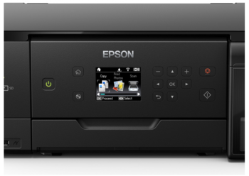 cumpără Epson L7160 Printer/Scaner/Copier, A4, Printer resolution: 5760x1440 DPI, Scanner resoltion: 1200x1200 DPI, Wi-Fi, USB 2.0 în Chișinău