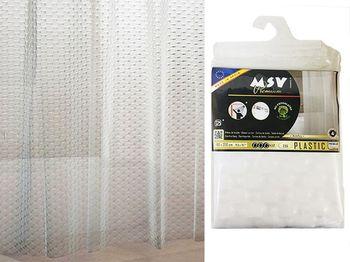 Шторка для душа 180X200cm Premium EVA BOMBAY, прозрачн