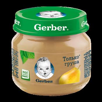 купить Пюре Gerber груша, с 4 месяцев, 80г в Кишинёве