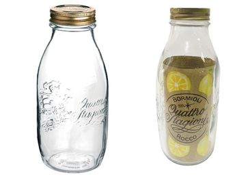 Sticla pentru pastrare/conservare Q.S. 1l, cu capac