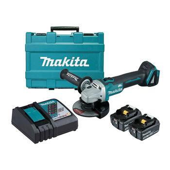 Угловая шлифовальная машина Makita DGA506RTE 125 мм