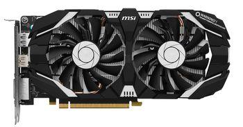 MSI GeForce GTX 1060 3GT OC /  3GB DDR5 192Bit 1759/8008Mhz, DVI, HDMI, DisplayPort, Dual fan, Military Class 4 (MIL-STD-810G), Gaming App, Retail
