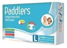Подгузники для взрослых Paddlers Jumbo Pack Large 30шт 100-150см 70+кг