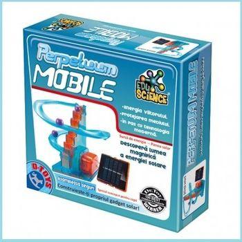 Научная игра Perpetuum mobile cu energie solara, код 41251