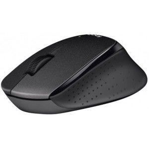 купить Wireless Mouse Logitech B330 Silent Plus, Optical, 1000 dpi, 3 buttons, Ergonomic, 1xAA, Black в Кишинёве