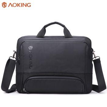 купить Cумка Aoking GM70939 для ноутбука дo 15.6'', водонепроницаемая, чёрный в Кишинёве