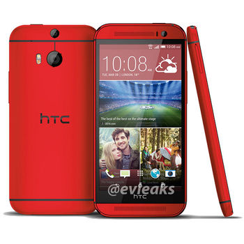 HTC One M8 16GB, Red