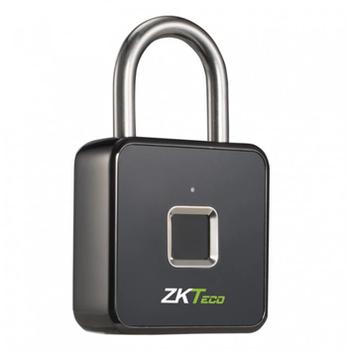 Замок навесной со сканером отпечатка пальца ZKTeco