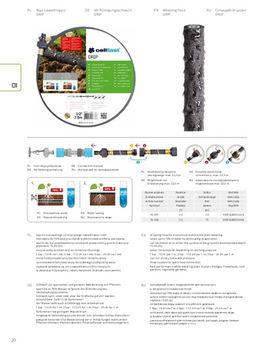 """купить Шланг-сочащийся 1/2"""" L=7,5 m  + комплект штуцеров DRIP Cellfast в Кишинёве"""