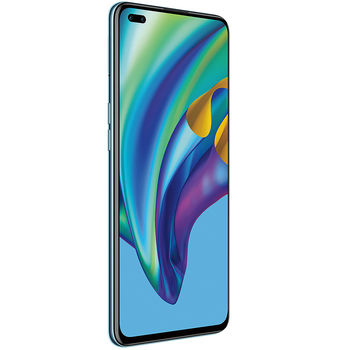 "Смартфон 6.43"" OPPO Reno4 Lite EU 128GB Blue 8GB RAM, Mediatek Helio P95 MT6779V Octa-core, PowerVR GM9446, DualSIM, 6.43"" 1080x2400 IPS 409 ppi, QuadCam 48MP&8MP&2MP&2MP, front 16MP&2MP, LED flash, 4015mAh,WiFi, BT5.1, LTE, Android 10 (ColorOS 7.2)"