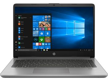 HP 340s G7 14.0 FHD AG UWVA 250 Narrow Bezel (Intel® Core™ i5-1035G1, 8GB DDR4 RAM, 512GB PCIe NVMe, Intel® UHD, WiFi Intel AX201 ax+BT5, USB 3.1 Type-C™ Gen 1, HDMI, LAN, No ODD, DOS, Asteroid Silver, Basic Carrying Case, 1.47 kg)