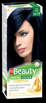 Краска для волос,SOLVEX MM Beauty, 125 мл., M19 - Иссиня-черный