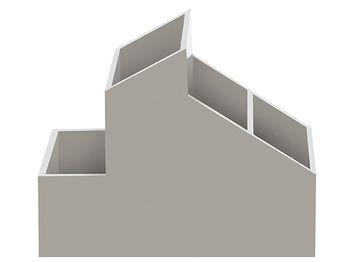Органайзер для мелочей 13X10X8.5cm Skyline серый