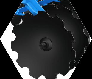 купить Борона дисковая Solis 8x8 (1,8 метра) в Кишинёве