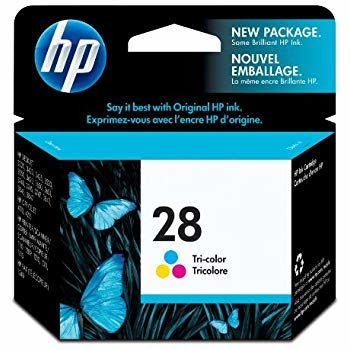HP №28 Tri-Color Ink Cartridge dj 33xx, 34xx (8ml) ~190 A4 pages 15% density